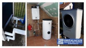 Toplotna puma vazuh-voda BOSCH Compess 6000 sa rezervoarom za pripremu tople potrošne vode